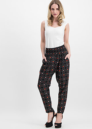 daydream streetlife pants, pick me up, Trousers, Black