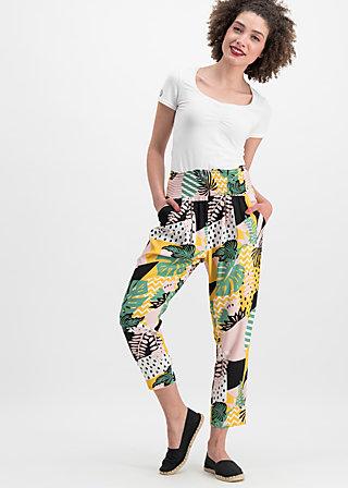 daydream streetlife pants, urban jungle, Hosen, Gelb