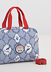 dolce vita handbag, bird frame , Accessoires, Blau