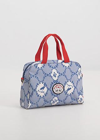 dolce vita handbag, bird frame , Handtaschen, Blau