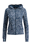 enchanging everyday zip, fluffy feather, Jumpers & lightweight Jackets, Blue
