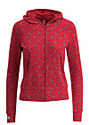 enchanging everyday zip, street swallow, Jumpers & lightweight Jackets, Red