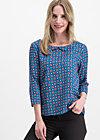 first peekaboo blusette, city roses, Blusen & Tuniken, Blau