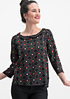 first peekaboo blusette, pick me up, Blouses & Tunics, Black
