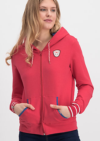 good morning bakerstreet zip, strawberry ice, Jumpers & lightweight Jackets, Red