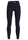 Leggings heart 'n' anchor, faith love hope, Leggings, Blau
