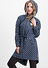 Parka heartbeat of the street, little tea towel, Jackets & Coats, Blue