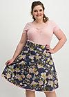 hip am schnuerchen skirt, grannys wallpaper, Röcke, Blau
