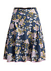 hip am schnuerchen skirt, grannys wallpaper, Webröcke, Blau