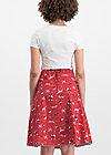 hip am schnuerchen skirt, street dogs, Röcke, Rot