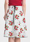hip am schnuerchen skirt, vagabunch, Skirts, White