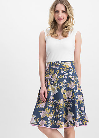 hip am schnuerchen skirt, grannys wallpaper, Skirts, Blue