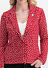kiss me homie jacket, strawberry point, Pullover & leichte Jacken, Rot