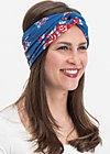knot of wisdom hairband, having a date, Haarbänder, Blau