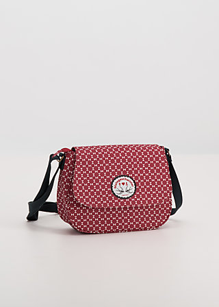lean on my shoulderbag, go red, Accessoires, Rot