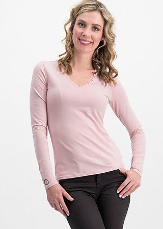 logo longsleeve v-neck uni, rosa iceshop, Shirts, Pink