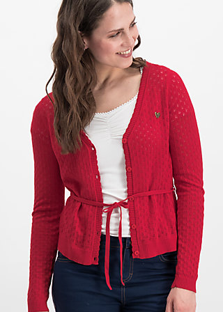 logo loving heart cardy, red hay, Jumpers & lightweight Jackets, Rot