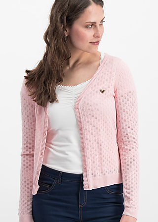 logo loving heart cardy, rose hay, Jumpers & lightweight Jackets, Pink