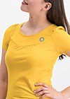 logo shortsleeve leisure  uni, golden lantern, Shirts, Gelb