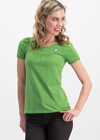 logo shortsleeve leisure  uni, green light, Shirts, Grün