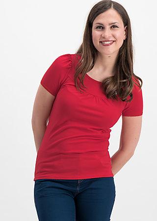 logo shortsleeve leisure  uni, red light, Shirts, Red