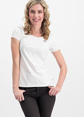 Basic Shirt logo shortsleeve leisure  uni, white train, Shirts, Weiß