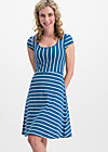 logo stripe dress, free stripe, Kleider, Blau