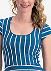 logo stripe dress, free stripe, Dresses, Blue