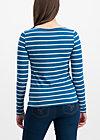 logo stripe longsleeve, free stripe, Shirts, Blau