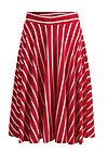 logo stripe skirt, date stripe, Röcke, Rot