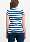 logo stripe top, wander stripe, Shirts, Blau