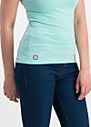 logo top romance uni, blue river, Shirts, Blau