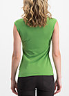 logo top romance uni, green light, Shirts, Green