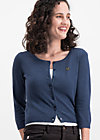 logo wonderwaist cardy, dark blue hope heart, Cardigans, Blau