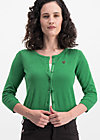 logo wonderwaist cardy, green hope heart, Cardigans, Grün