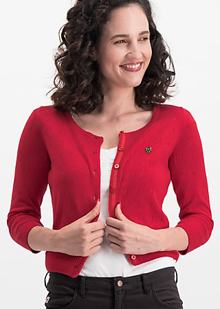 logo wonderwaist cardy, red hope heart, Pullover & leichte Jacken, Rot