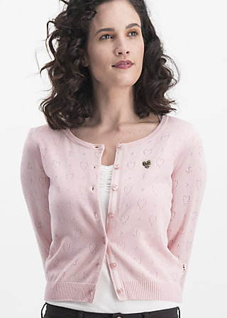 logo wonderwaist cardy, rose hope heart, Pullover & leichte Jacken, Rosa