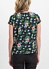 luscious love tee, vagabund flowers, Shirts, Black
