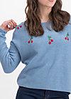 ma cherie pullover, blue cherry, Pullover & leichte Jacken, Blau