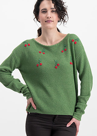 ma cherie pullover, folk cherry, Jumpers & lightweight Jackets, Green