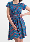 metropolitan magic dress, city roses, Kleider, Blau