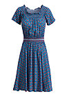 metropolitan magic dress, city roses, Dresses, Blue