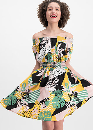 metropolitan magic dress, urban jungle, Kleider, Gelb