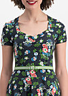 mze kze dress, vagabund flowers, Dresses, Black