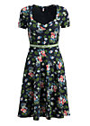 mze kze dress, vagabund flowers, Jersey Dresses, Schwarz