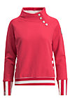 oh so nett sweat, strawberry ice, Pullover & leichte Jacken, Rot