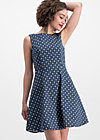 petite and oho dress, little tea towel, Woven Dresses, Blau