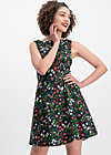petite and oho dress, poppy field, Dresses, Black
