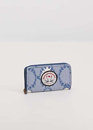 pure elegance purse, bird frame , Portemonnaies, Blau