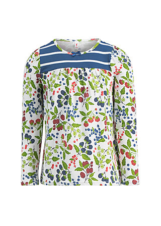 quirly girly longsie, berry friends, Shirts, Weiß